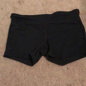 Under Armor spandex athletic shorts